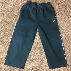 Jordan's Black Sweatpants Sz 4T